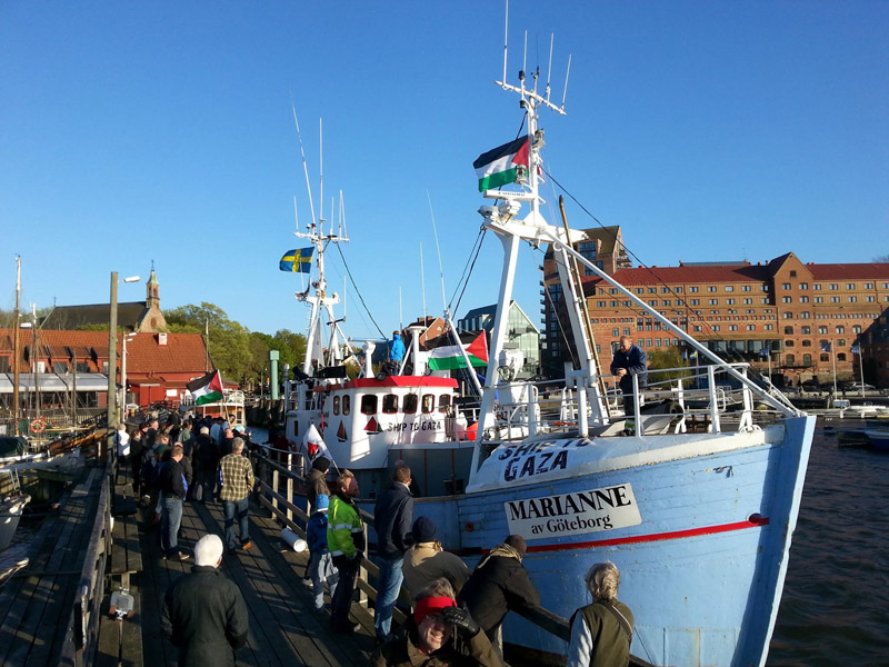 La III Flotilla de la Libertad zarpa rumbo a Gaza