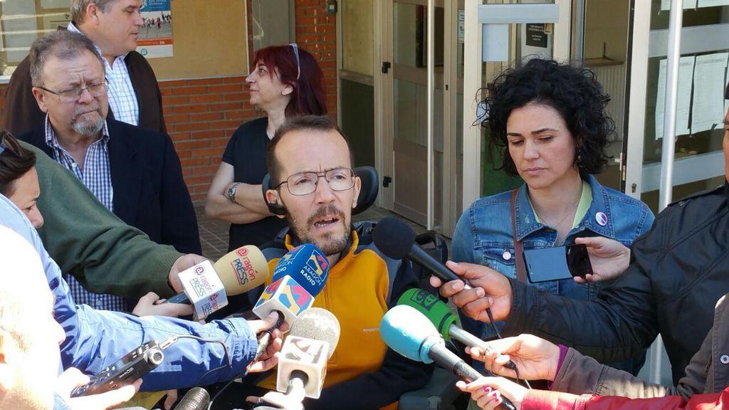 Podemos Aragón y sus candidatos en Uesca cerrarán la campaña en el Canfranero