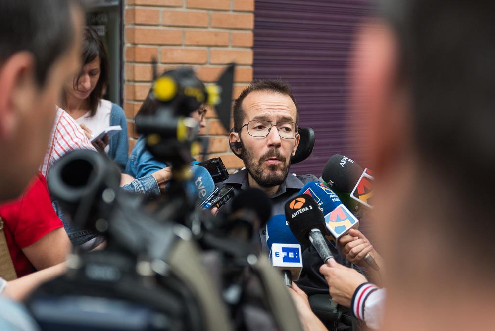 Echenique: «Podemos no formará parte de un Gobierno del PSOE»