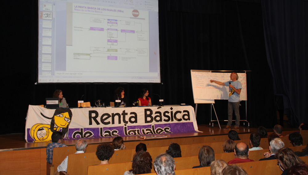 """El colectivo """"Personas Paradas y Precarias de CGT"""" organiza las jornadas por la """"Renta Básica de las Iguales"""""""