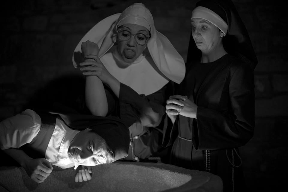 """La compañía aragonesa """"Titánicas"""" presenta el espectáculo """"Oh, my god"""" en el Teatro del Mercado"""
