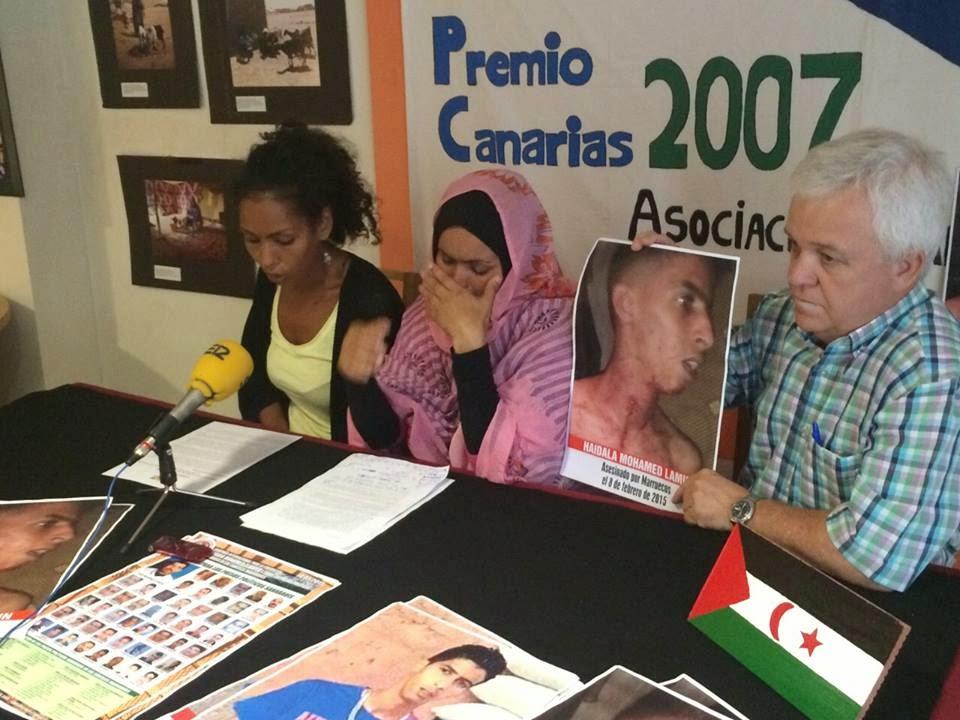 La Brigada Aragón-Sahara lanza un mensaje de solidaridad con la huelga de hambre de Takbar Haddi