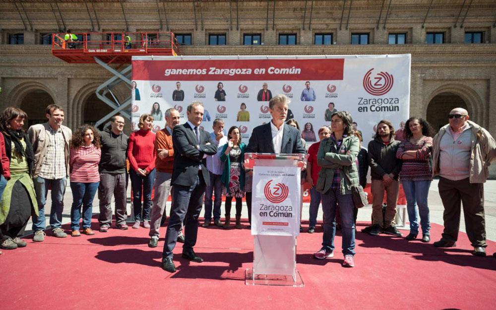 Zaragoza en Común destaca la necesidad de cumplir con los mecanismos de transparencia para combatir la corrupción