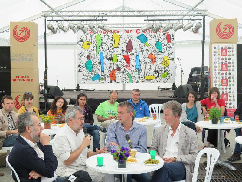 Zaragoza en Común establecerá referéndums vinculantes para las grandes decisiones de ciudad