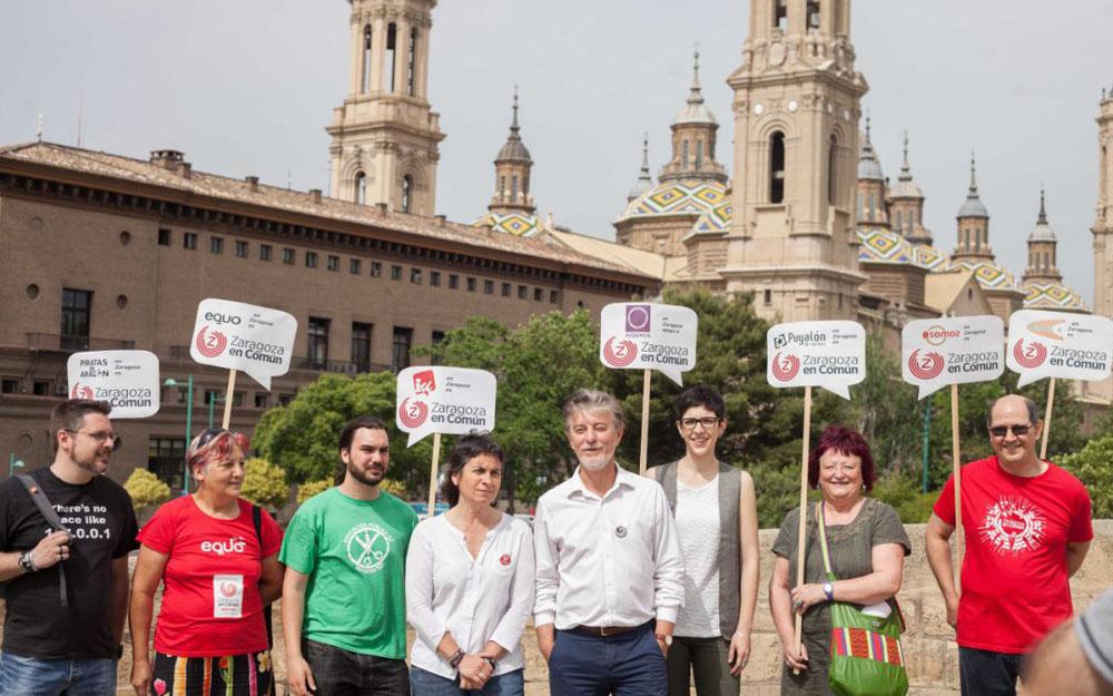 """Zaragoza en Común """"la única apuesta municipal que puede derrotar al PP"""""""