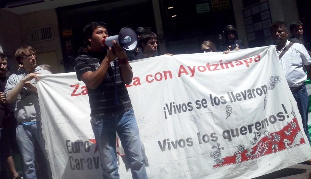 Caravana 43: «Vivos se los llevaron, vivos los queremos»