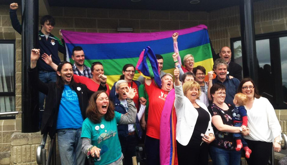 """""""Un buen día para la igualdad y para Irlanda"""""""