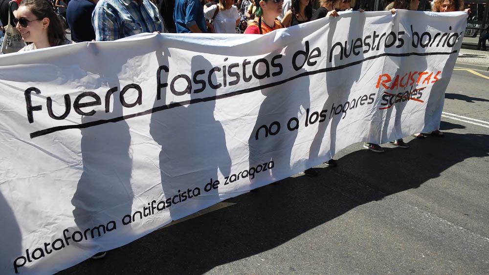 La Plataforma Antifascista pide que se investigue la posible realización de conciertos neonazis en el Camping Ciudad de Zaragoza