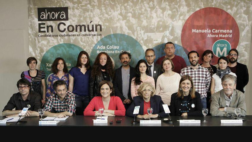 """Zaragoza en Común apuesta por la defensa de """"una vida digna"""" en el acto 'Ahora en Común'"""