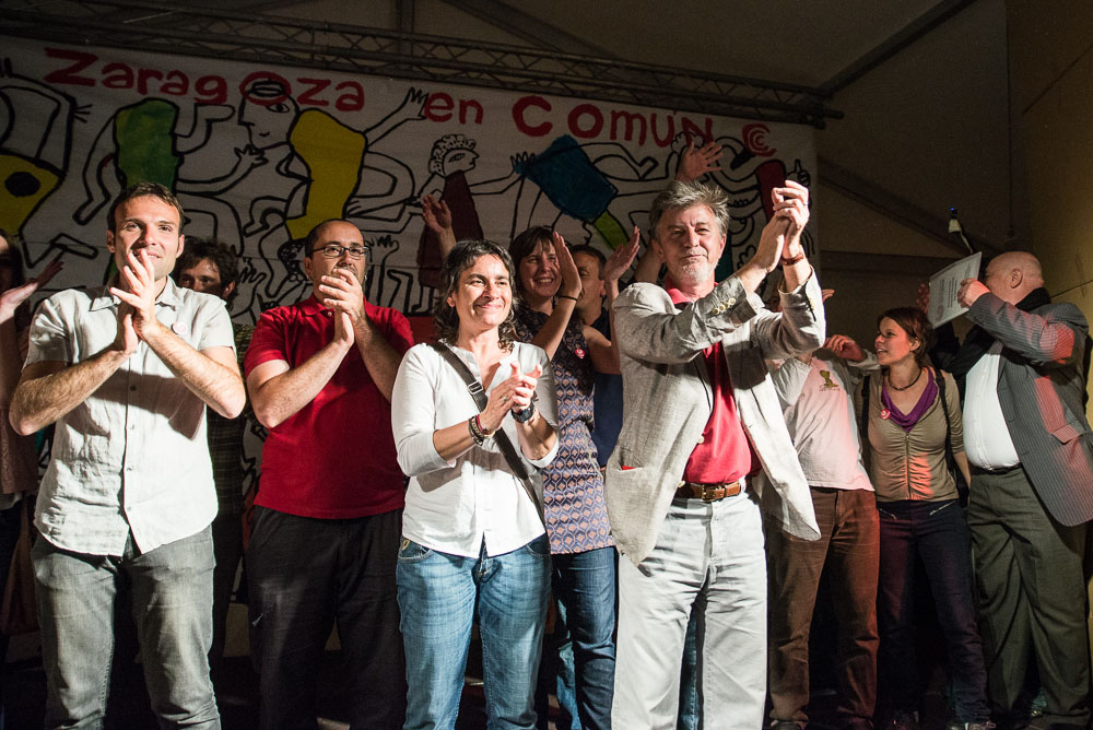 Zaragoza en Común gobernará en el Ayuntamiento de la capital aragonesa