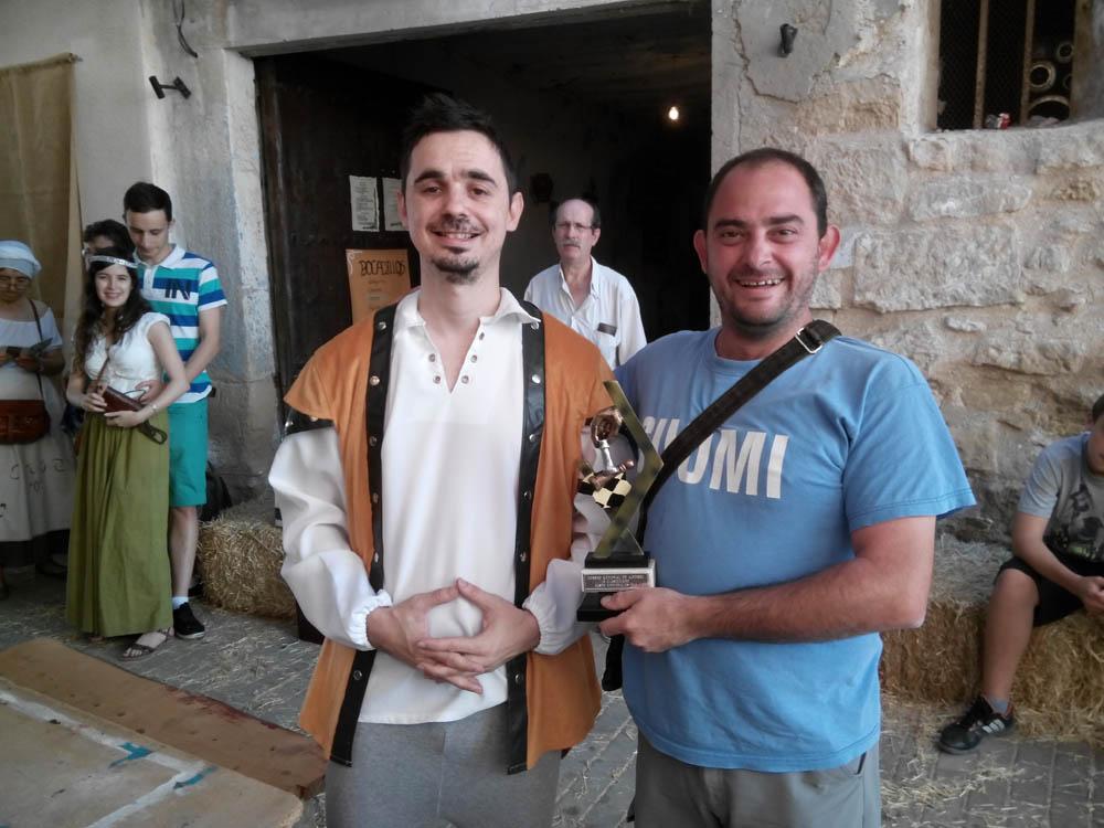 Julián Rodríguez se hace con la victoria en el XII Concurso de Ajedrez 'Barrio La Fireta' de Caspe