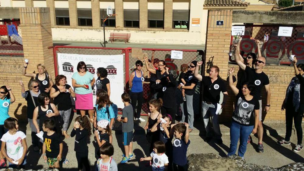 Marcha fúnebre por la escuela de Angüés