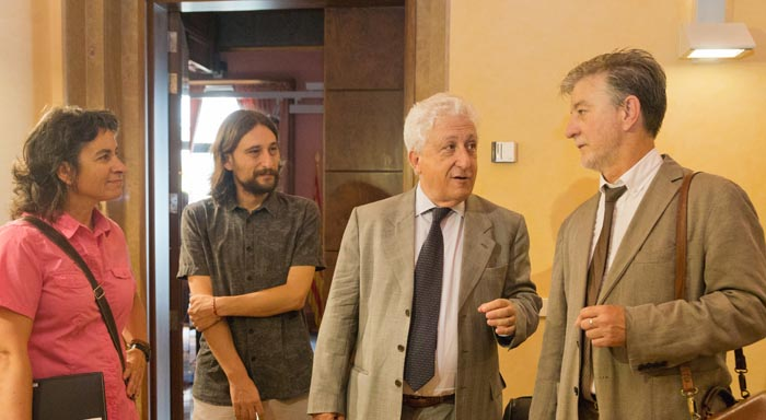 El alcalde de Zaragoza se reúne con el Justicia de Aragón para conocer de primera mano las quejas de la ciudadanía