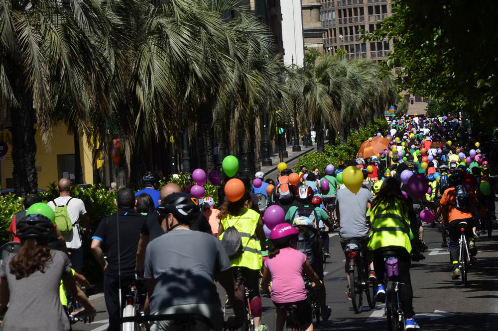 Pedalea celebra el Día Mundial de la Bicicleta con una marcha ciclista