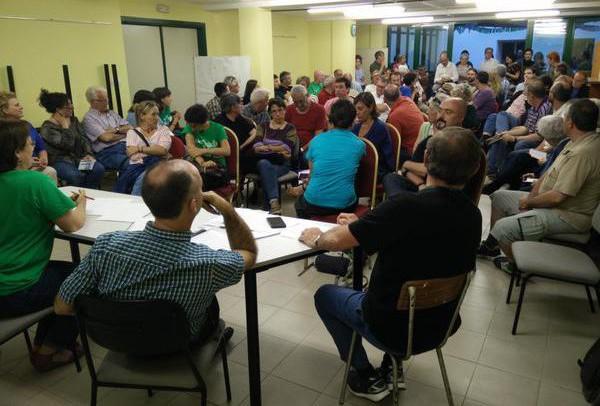 Cambiar Huesca consensua «online» las condiciones para un acuerdo de investidura