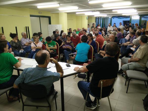 """Cambiar Huesca consensua """"online"""" las condiciones para un acuerdo de investidura"""