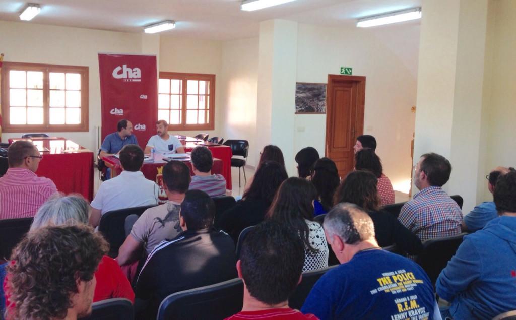 Bizén Fuster y Javier Carbó serán los diputados de CHA en DPZ y DPT