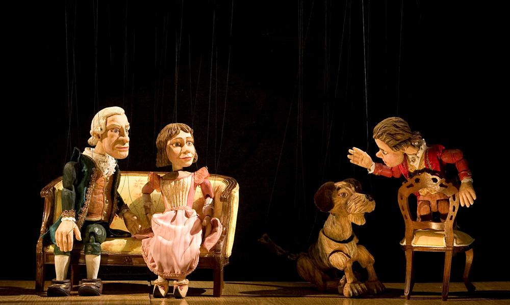 Títeres Cachirulo presenta un hermoso espectáculo que recrea la infancia de Mozart
