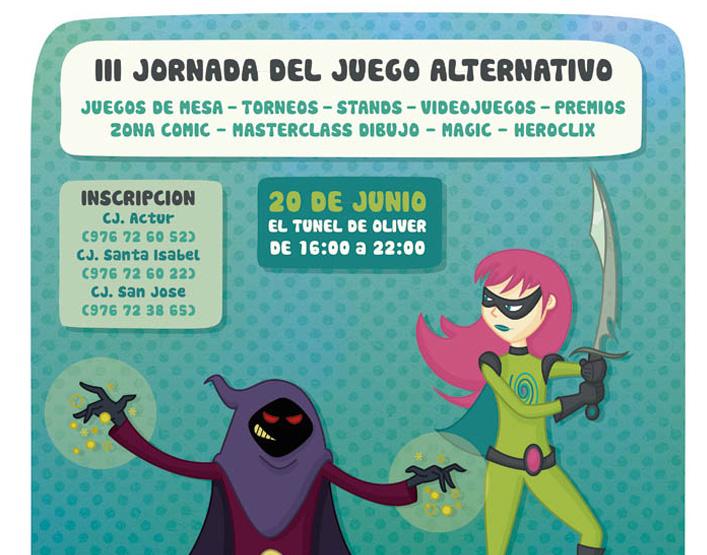 El Oliver acoge las III Jornadas de Juegos Alternativos de Zaragoza