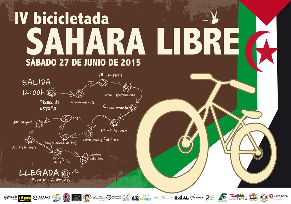 Zaragoza volverá a pedalear por un Sáhara Libre
