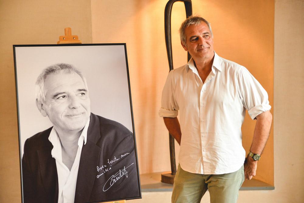 """Laurent Cantet recibe el Premo """"Luis Buñuel"""" en el arranque del 43 Festival Internacional de Cine de Uesca"""