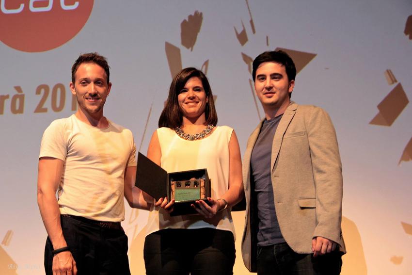 'Mar de fons', producido por el mequinenzano Javi Rodes, premiado en el VIII Festival Internacional de Cinema en Català