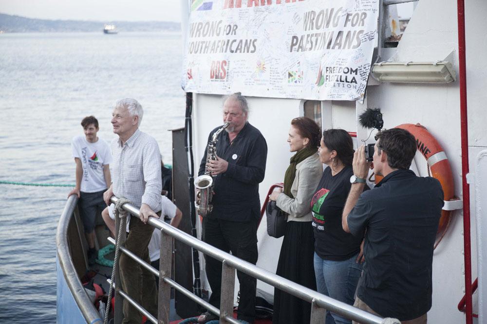 La III Flotilla de la Libertad está en aguas internacionales