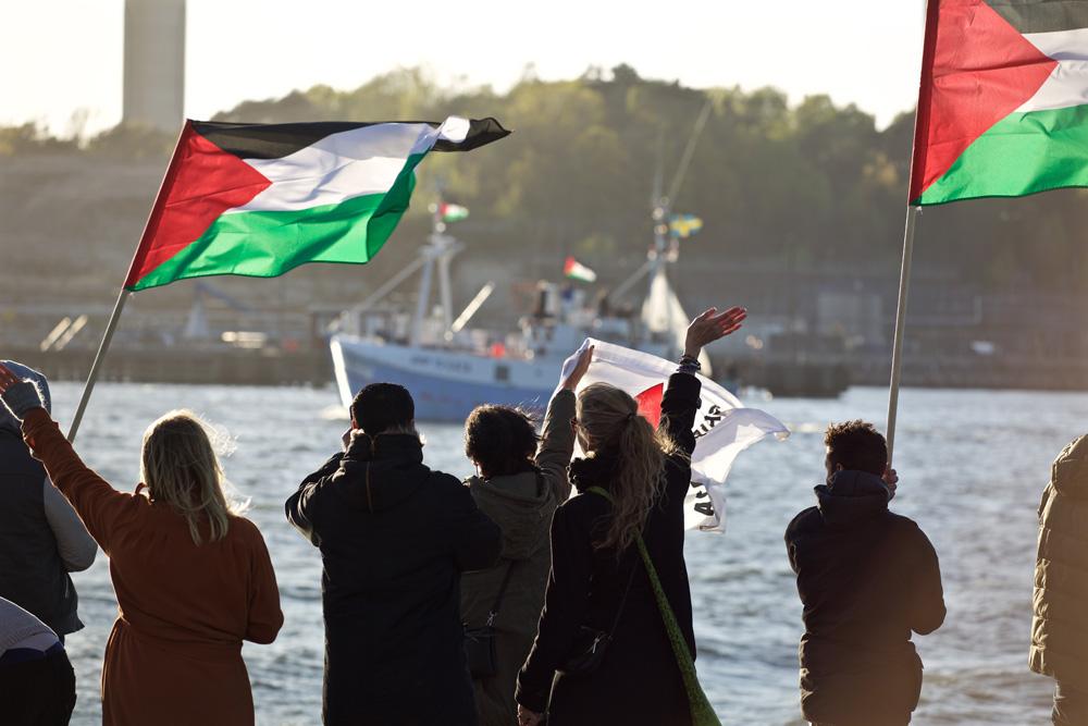 Israel asalta al Marianne en aguas internacionales