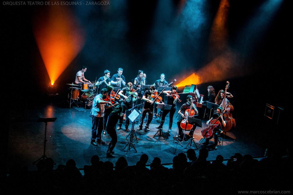 La Orquesta de las Esquinas se vuelve loca por el pop y el rock