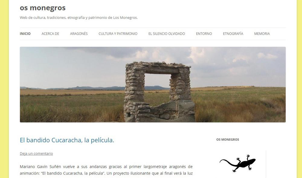 'Os Monegros' estrena nueva web