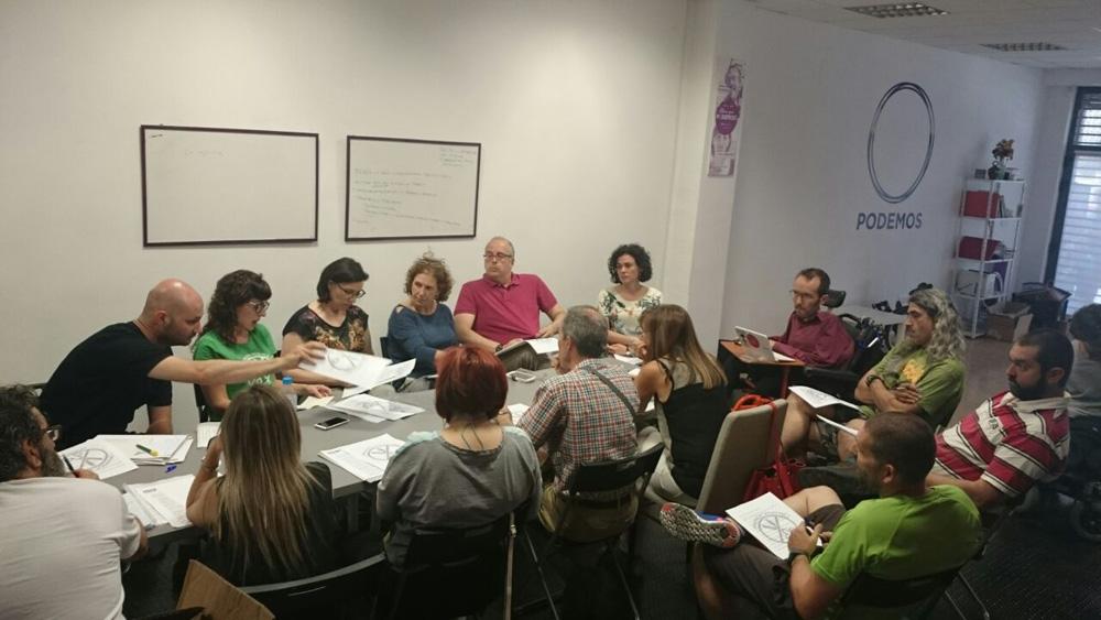 Podemos Aragón recoge en su Pacto Ciudadano las medidas prioritarias en Educación y Servicios Sociales