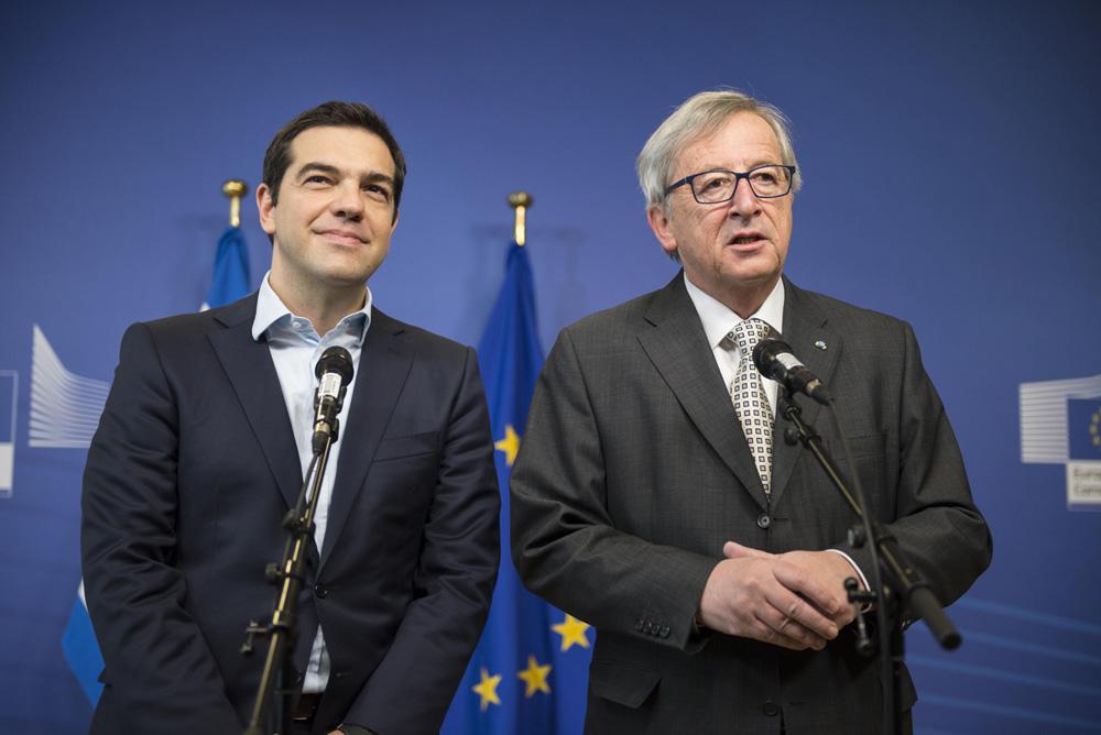 La reunión entre Tsipras y los presidentes de la Comisión Europea y el Eurogrupo concluye sin acuerdo