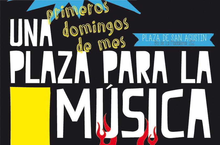 'Una plaza para la Música' vuelve este domingo a San Agustín