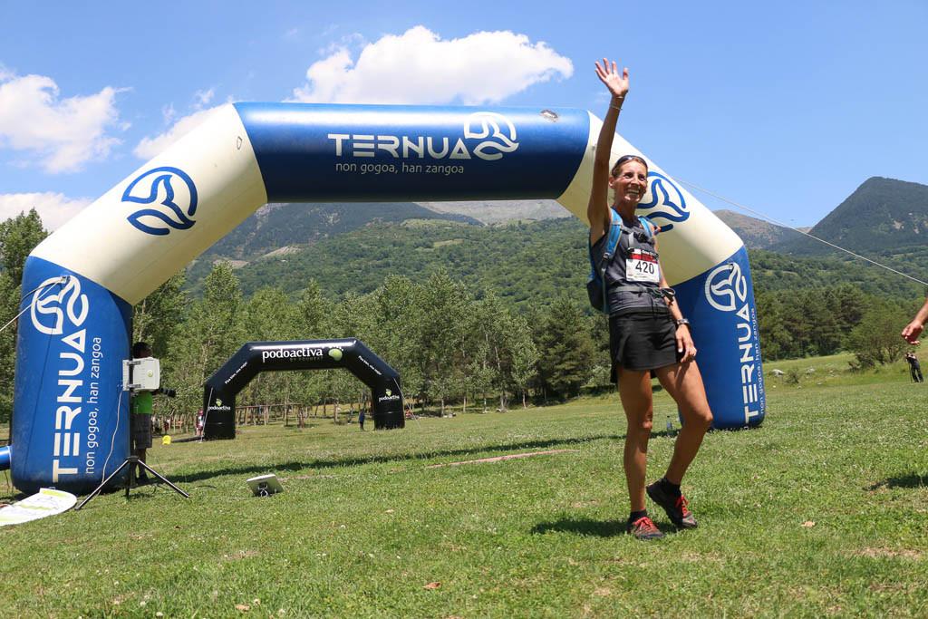 Kiko Navarro y Nuria Sierra, los más rápidos en el Gran Trail Ternua Sobrarbe