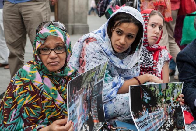 Takbar Haddi, en estado grave tras 36 días en huelga de hambre