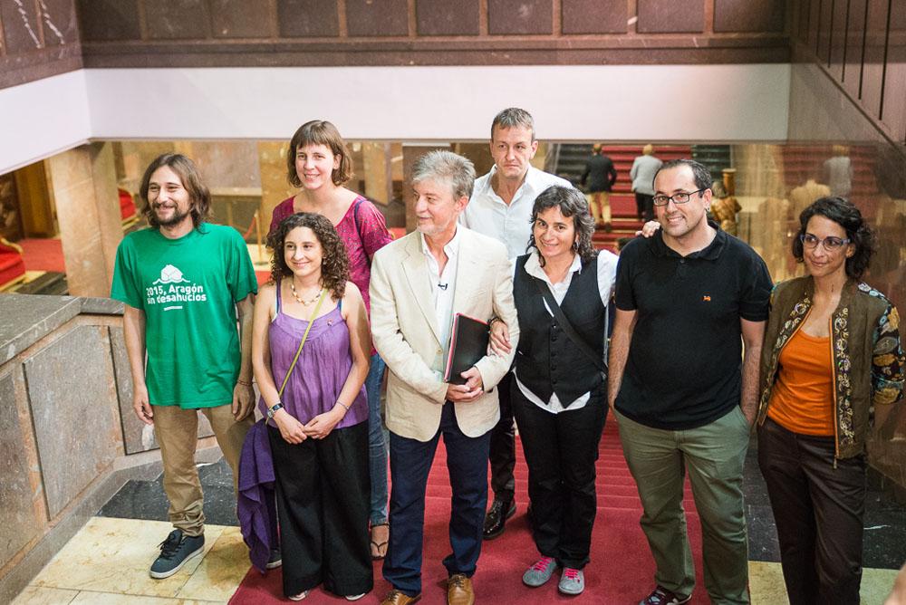 Zaragoza en Común ofrecerá a CHA y PSOE un pacto de gobernabilidad para la actual legislatura
