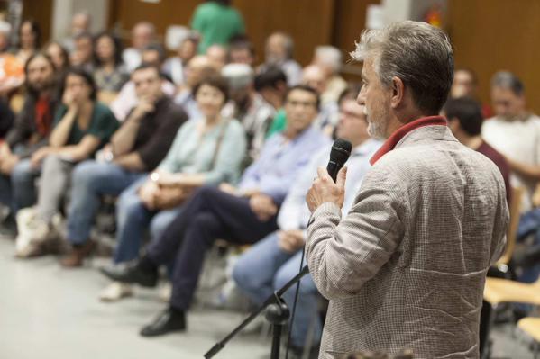 Zaragoza en Común inicia con el PSOE la primera de las reuniones con fuerzas políticas municipales