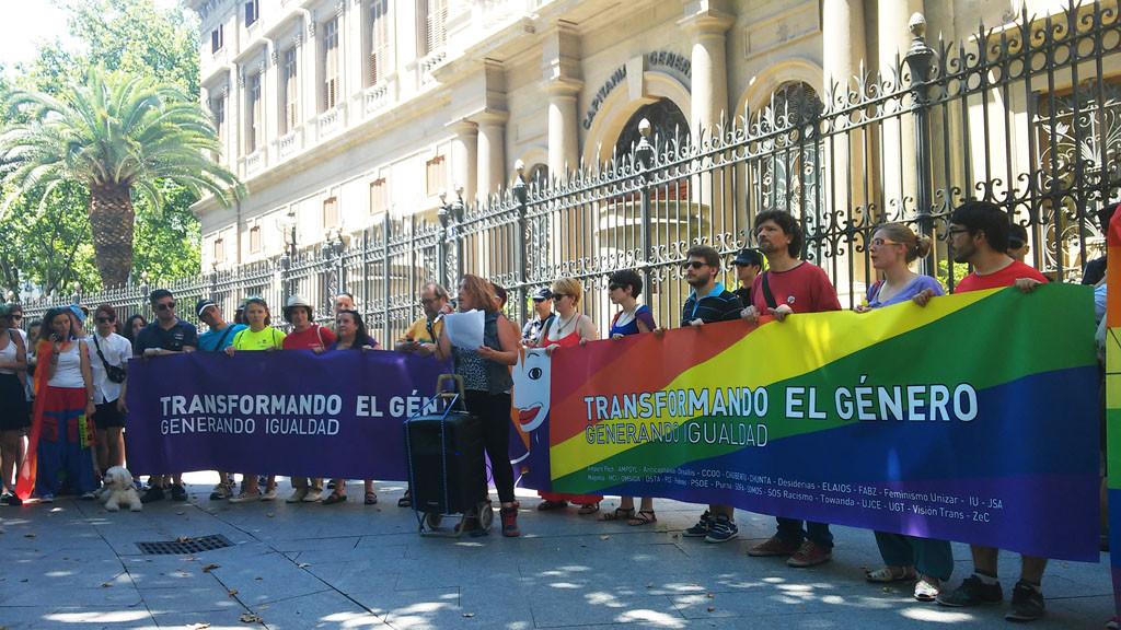 El movimiento LGTBI reivindica una sociedad libre de discriminación y LGTBIfobia