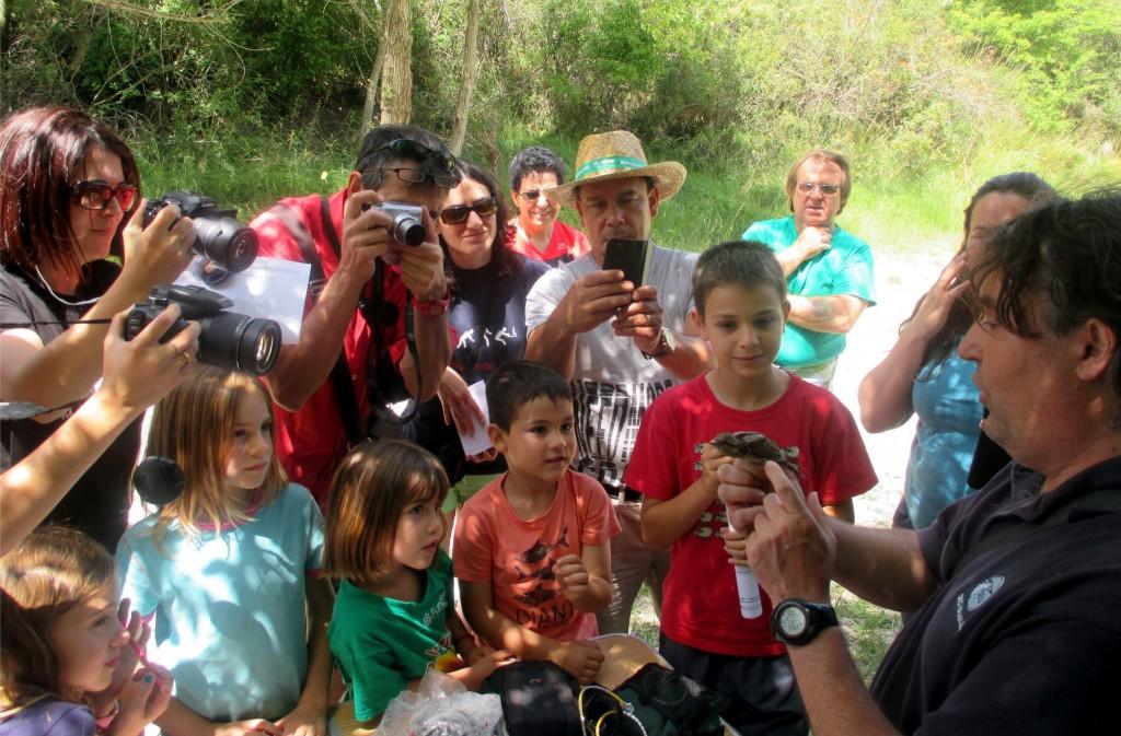 Éxito de la jornada de anillamiento en La Galliguera