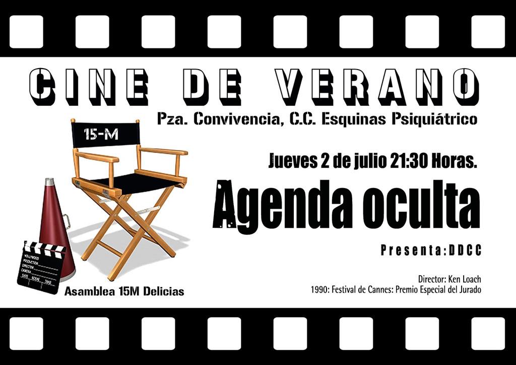 Cine de verano con la Asamblea Delicias