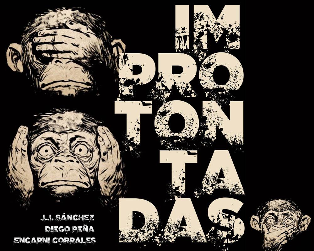 Diego Peña y Teatro Indigesto en el Sótano Mágico