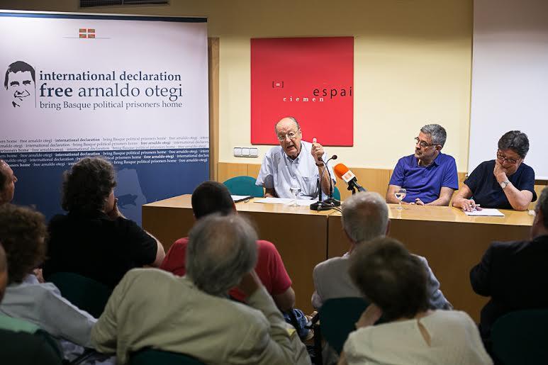 La campanya per la llibertat d'Otegi suma cares de la cultura i la política catalana