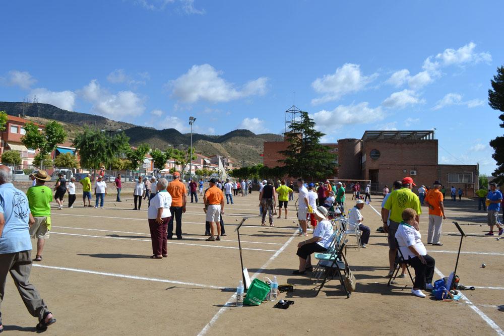 Tivissa se lleva la victoria en el XIX Encuentro de Petanca de Mequinensa