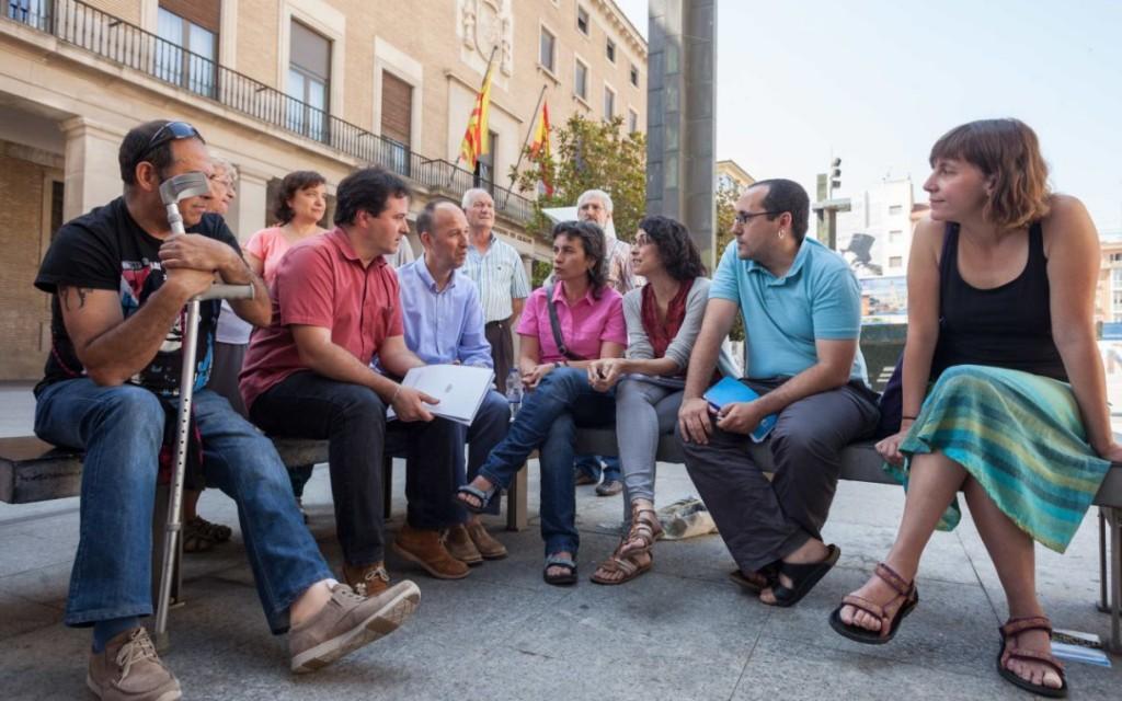 Zaragoza en Común creará un documento que integre propuestas coincidentes con PSOE, CHA y Ciudadanos como acuerdo de investidura