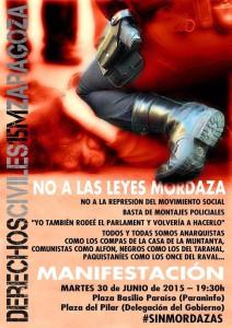 #sinmordazas ZGZ