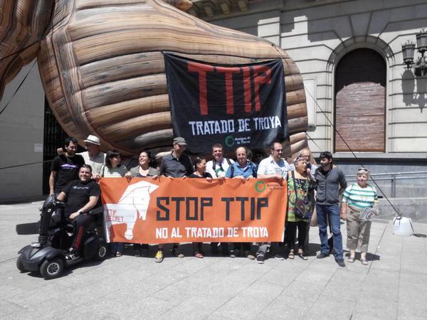 El diputado aragonés Jorge Luis Bail accede a documentación secreta del TTIP