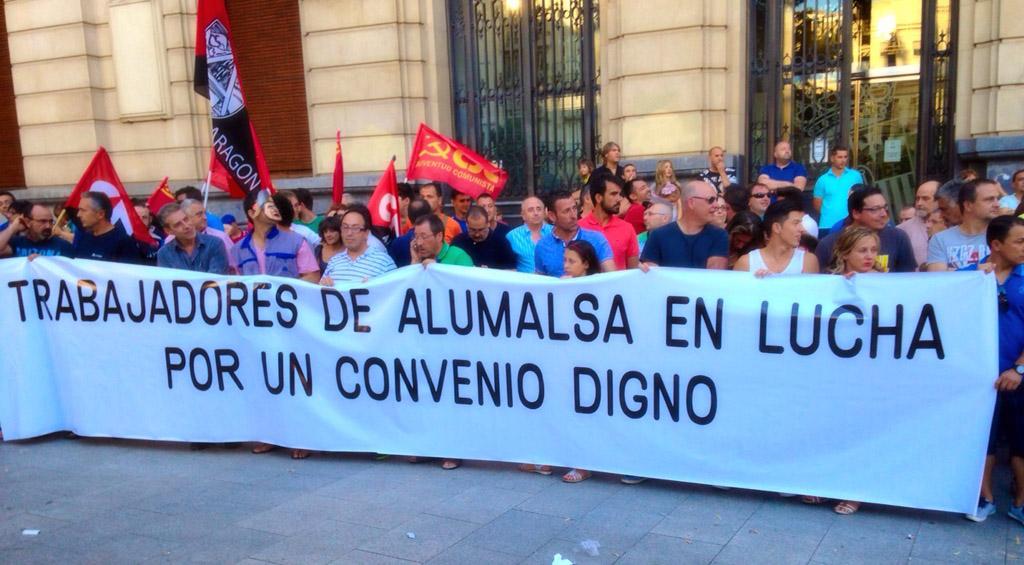 Finaliza la huelga en Alumalsa