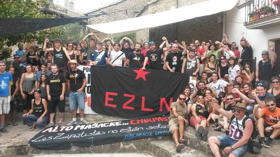 Caracol Zaragoza se une a la Jornada Global de Solidaridad con las zapatistas en respuesta a las agresiones paramilitares a las Comunidades en Chiapas
