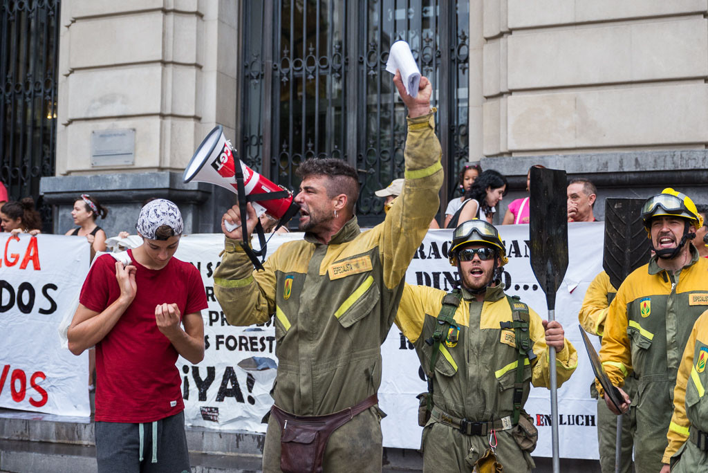 La ATBrif valora los tres días de huelga de «rotundo éxito»