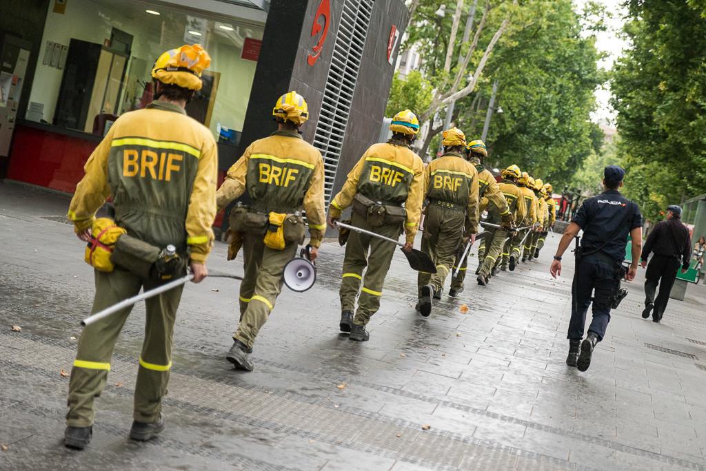 Comienza la huelga indefinida de las BRIF